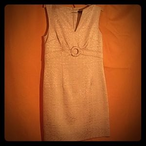 David Meister Elegant Textured Wiggle Dress 8